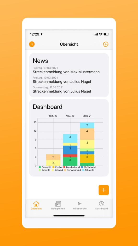 Newsfeed diwima Wildmarke iphone